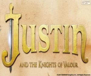 Układanka Logo filmu Justin i Rycerze Walecznych