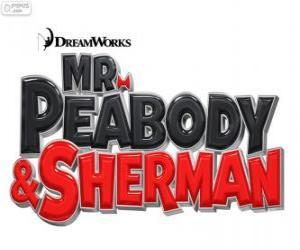 Układanka Logo filmu Pan Peabody i Sherman
