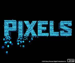 Układanka Logo filmu Piksele