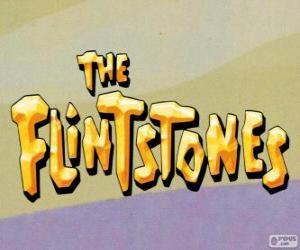 Układanka Logo Flintstonowie