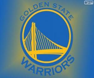 Układanka Logo Golden State Warriors, zespół NBA. Dywizja Pacyfiku, Konferencja zachodnia