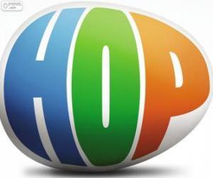 Układanka Logo Hop, film