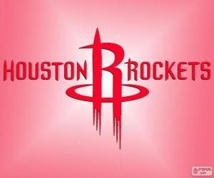 Układanka Logo Houston Rockets, zespół NBA. Dywizja Południowo-zachodnia, Konferencja zachodnia