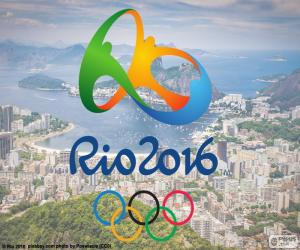 Układanka Logo igrzysk Rio 2016
