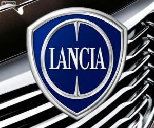 Układanka Logo Lancia, włoskiej marki