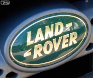 Układanka Logo Land Rover