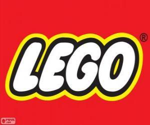 Układanka Logo Lego, zabawki budowlane