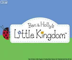 Układanka Logo Małe Królestwo Bena i Holly