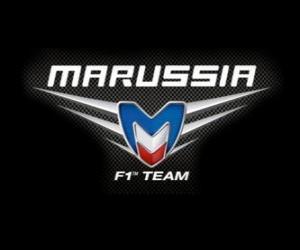 Układanka Logo Marussia F1 Team