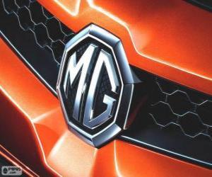 Układanka Logo MG, marki, Wielka Brytania