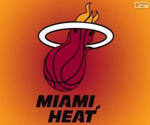 Układanka Logo Miami Heat, drużyny NBA. Dywizja Południowo-wschodnia, Konferencja wschodnia