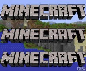 Układanka Logo Minecraft