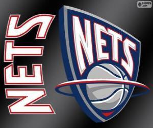 Układanka Logo New Jersey Nets, zespół NBA. Dywizja Atlantycka, Konferencja wschodnia