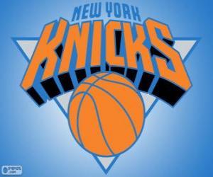 Układanka Logo New York Knicks, zespół NBA. Dywizja Atlantycka, Konferencja wschodnia