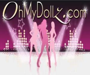 Układanka Logo Oh My Dollz