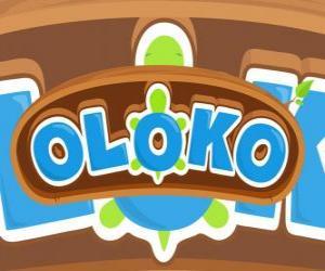 Układanka Logo Oloka strategii gry online