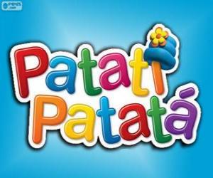 Układanka Logo Patatí Patatá