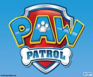 Układanka Logo Paw Patrol