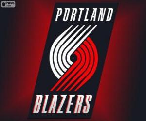 Układanka Logo Portland Trail Blazers, zespół NBA. Dywizja Północno-zachodnia, Konferencja zachodnia