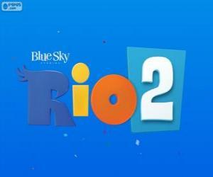 Układanka Logo Rio 2 film