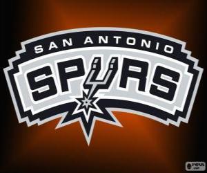 Układanka Logo San Antonio Spurs, zespół NBA. Dywizja Południowo-zachodnia, Konferencja zachodnia