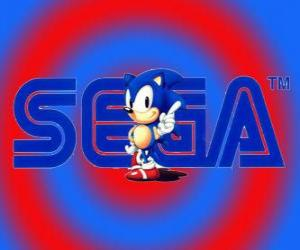 Układanka Logo Sonic
