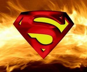 Układanka Logo Superman