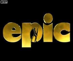 Układanka Logo Tajemnica zielonego królestwa. Epic