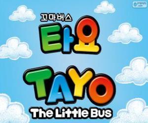 Układanka Logo TAYO mały Bus