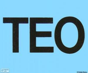 Układanka Logo Teo