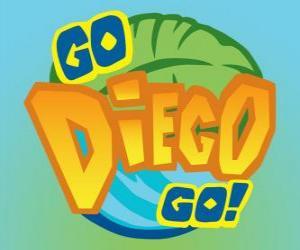 Układanka Logo to Dalej, Diego!