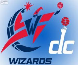 Układanka Logo Washington Wizards, zespół NBA. Dywizja Południowo-wschodnia, Konferencja wschodnia
