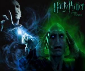 Układanka Lord Voldemort jest głównym wrogiem Harry'ego Pottera