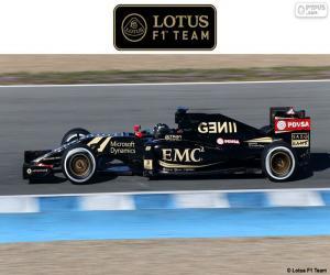 Układanka Lotus F1 Team 2015