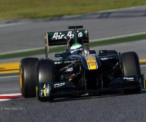 Układanka Lotus T128 - 2011 -