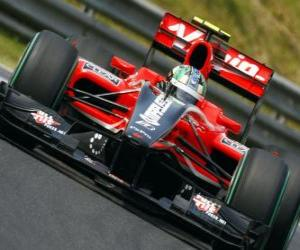 Układanka Lucas di Grassi - Virgin - 2010 Grand Prix Węgier
