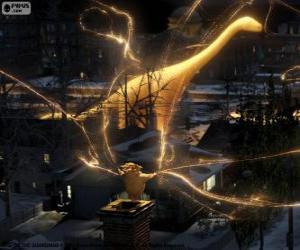 Układanka Ludek, strażnik snów, niema postać z filmu Strażnicy Marzeń
