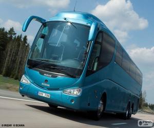Układanka Luksusowy autobus
