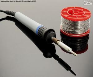 Układanka Lutownika elektryczna cynowa