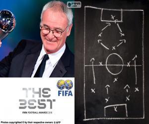 Układanka Mężczyzn trener Świata FIFA 2016