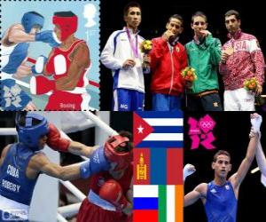 Układanka Męskie muszej boks Londyn 2012