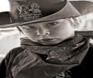 Układanka Młodych Cowboy