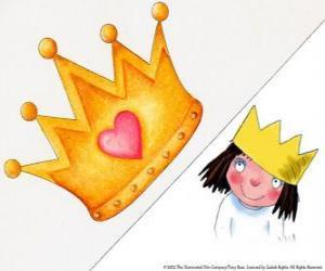 Układanka Mała księżniczka