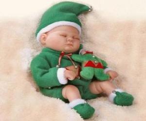 Układanka Mały chochlik spania