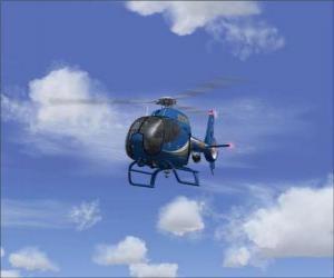 Układanka Mały helikopter
