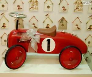 Układanka Mały samochód jazdy na zabawki na Boże Narodzenie