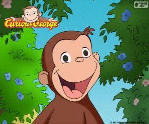 Układanka Małpa George