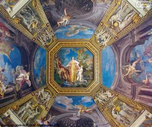 Układanka Malarstwo jest kopułą Watykanu