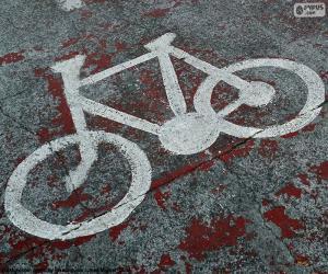 Układanka Malowane rowerów, sygnał