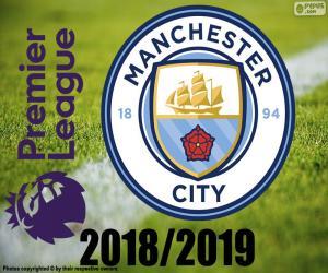 Układanka Manchester City, mistrz 2018-19